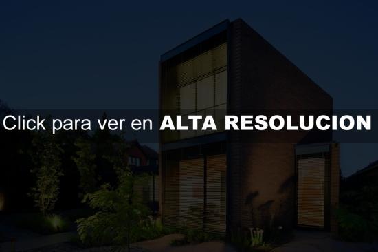 fachada de casa minimalista de ladrillos fachadas de