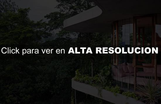 casa moderna tropical