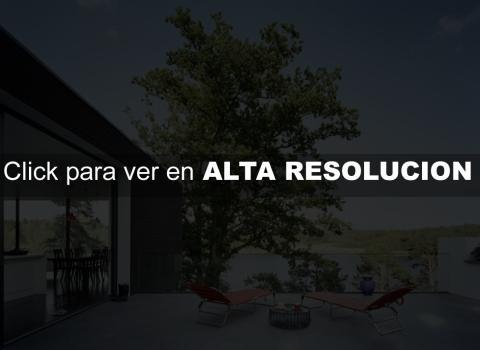 Casa Minimalista Lago